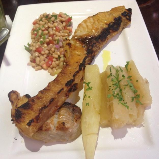 Mesmo os pratos individuais vêm bem servidos. Foto: Marcelle Ribeiro