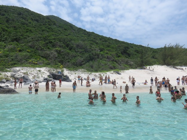 A praia do Farol é uma atração imperdível no passeio de barco! Foto: Marcelle Ribeiro