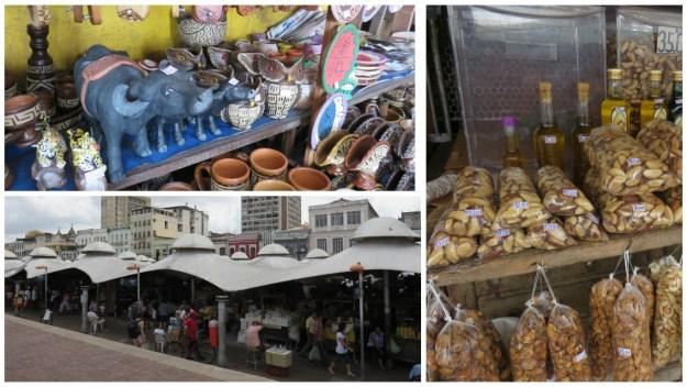 Mercado Ver-o-Peso, em Belém. Foto: Marcelle Ribeiro