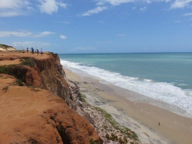 falesia da praia de cacimbinhas roteiro rio grande do norte