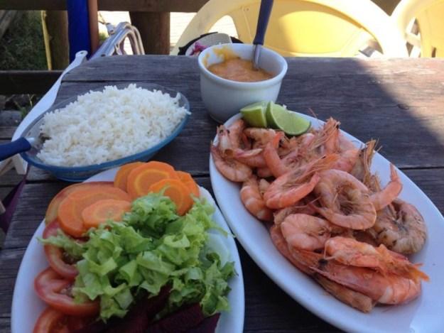 praias do sul de florianopolis onde comer