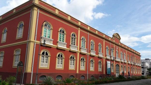 Palacete Provincial, em Manaus. Foto: Marcelle Ribeiro.