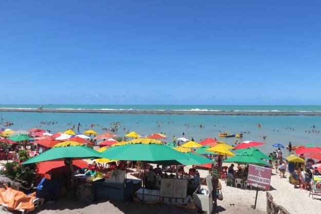 Praia de Muro Alto, em Porto de Galinhas. Foto: Marcelle Ribeiro.