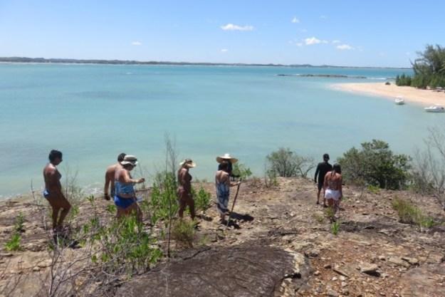 trilha na ilha de santo aleixo ilha de santo aleixo