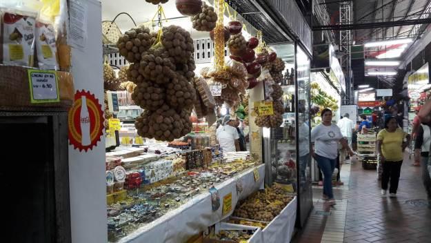 Stand do Mercado Municipal de Belo Horizonte. Foto: Marcelle Ribeiro.