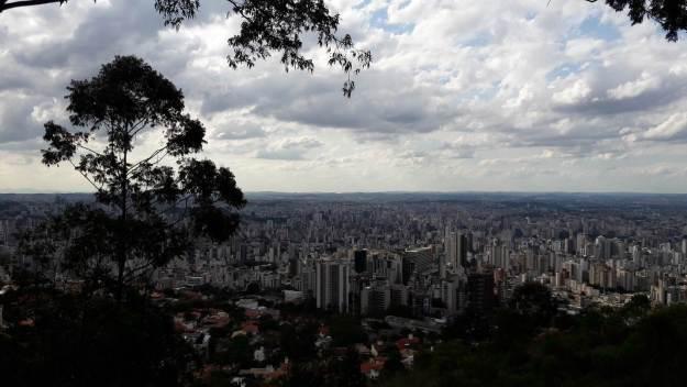 Vista do Mirante das Mangabeiras, em Belo Horizonte. Foto: Marcelle Ribeiro.