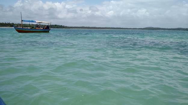 Piscina natural da Ilha de Boipeba. Foto: Antônio Carlos de Souza.