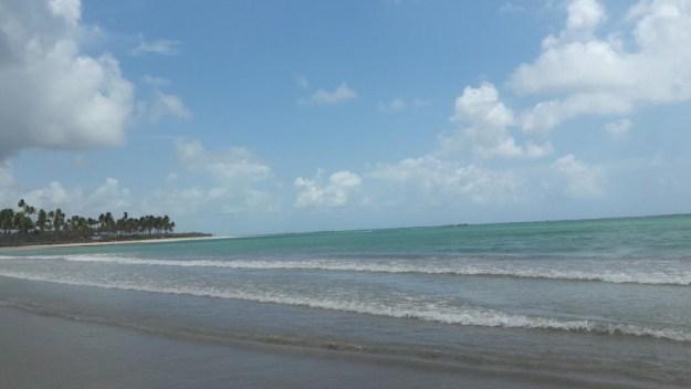 A praia do Marceneiro tem o melhor acesso da região. Foto: Marcelle Ribeiro