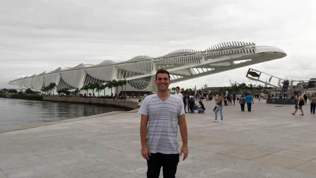 Fachada do Museu do Amanhã, no Rio de Janeiro. Foto: Marcelle Ribeiro.