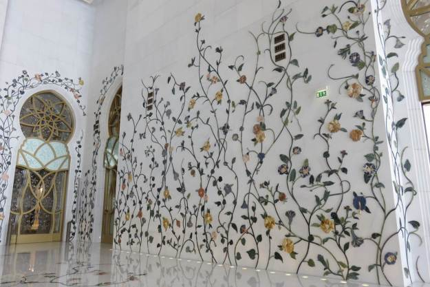 Sheikh Zayed Grand Mosque. Foto: Marcelle Ribeiro