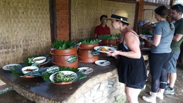 Restaurante onde almoçamos no passeio de bicicleta. Foto: Marcelle Ribeiro