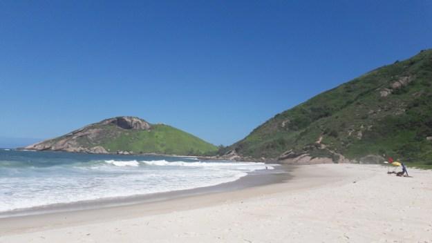 praia do meio barra de guaratiba