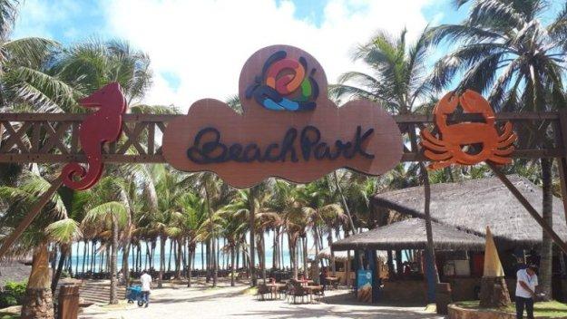 beach park dicas entrada