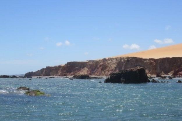 praia de ponta grossa vista do mar o que fazer em canoa quebrada