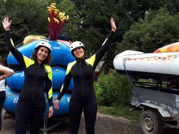 Rafting no rio Trancura, em Pucón