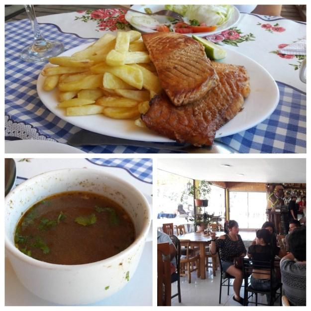 Restaurante Puerto Fuy, no Chile