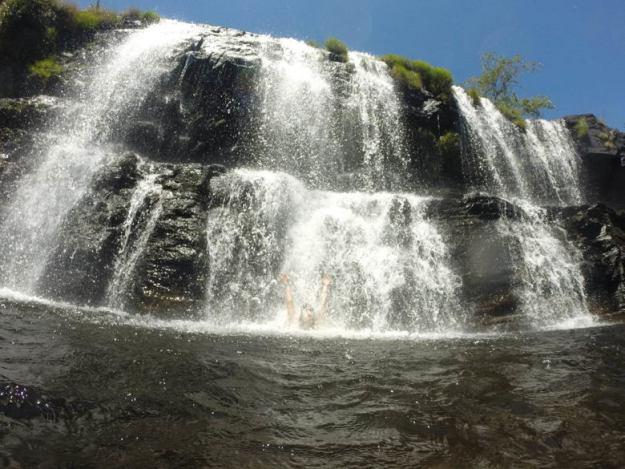cachoeiras na serra do cipo cachoeira grande