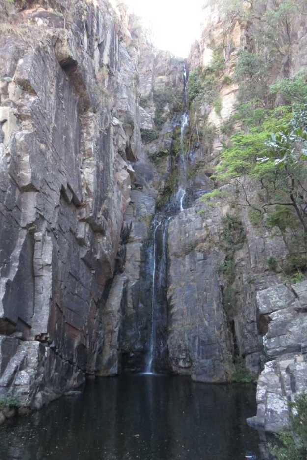 cachoeiras na serra do cipo veu de noiva