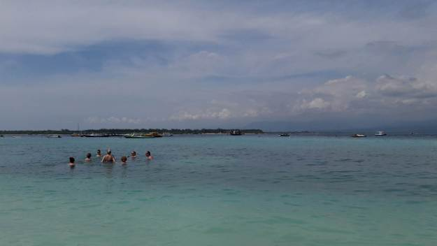 praia gili trawangan