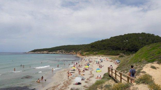 praia de binigaus menorca espanha