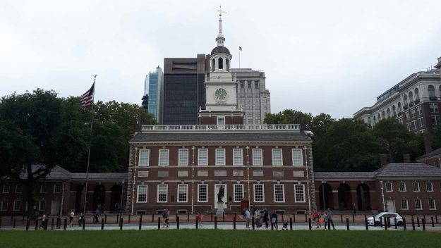 Fachada do Independence Hall