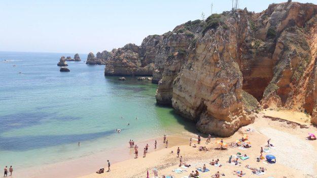 melhores praias de portugal praia dona ana lagos