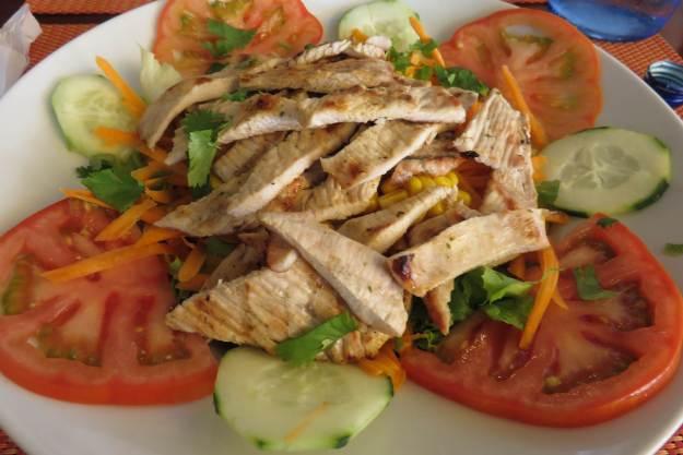 salada Restaurante Abrigo Lagos