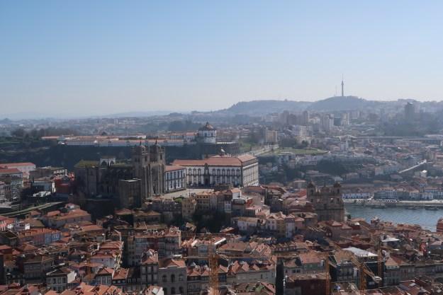 Vista Torre dos Clérigos porto