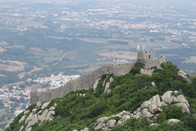Sintra O que fazer castelo dos mouros