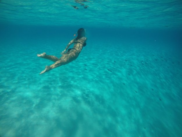 ilha de providencia abismo snorkel