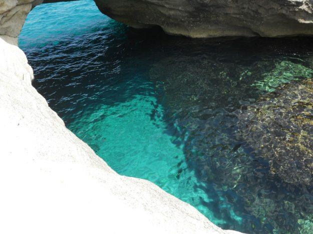 Ilha de Milos, Papafragas