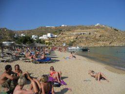 Mykonos, Grécia, Super Paradise