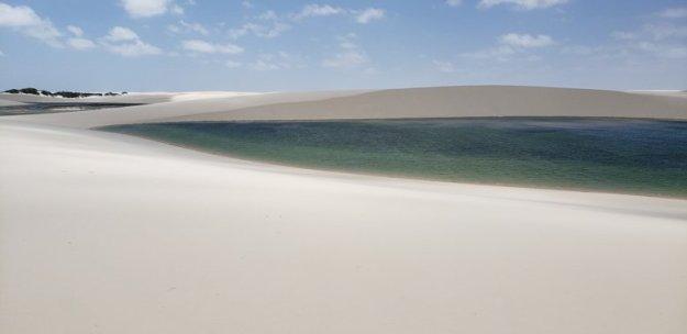 Lagoa da Gaivota, Santo Amaro do Maranhão.