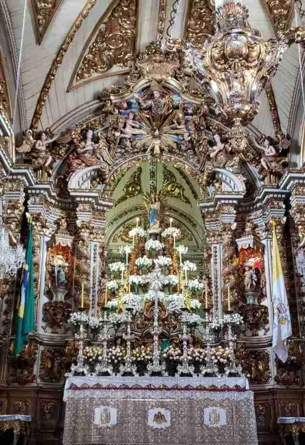 o que fazer em São João del Rei Basílica Nossa Senhora do Pilar