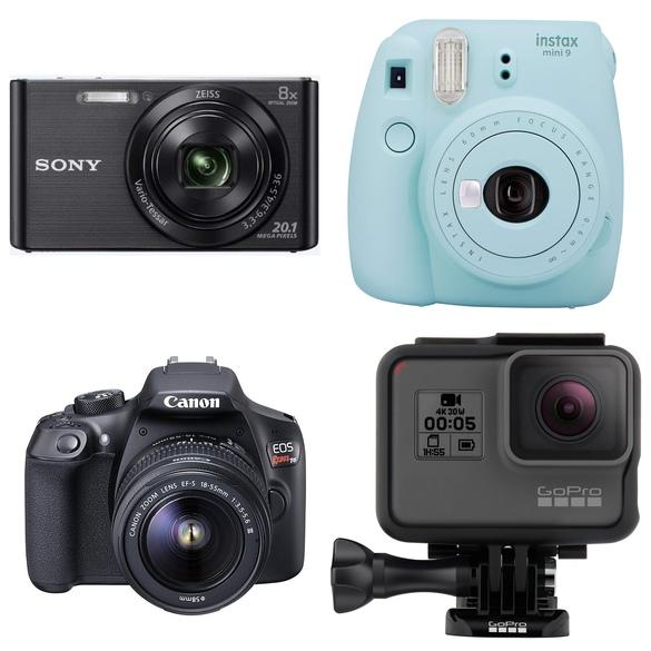 presentes para quem gosta de viajar cameras