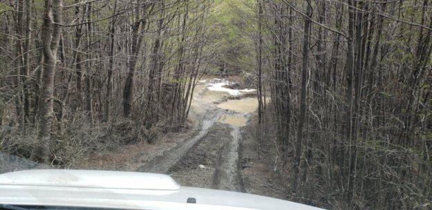 estrada enlamaçada expedicao 4x4 ushuaia