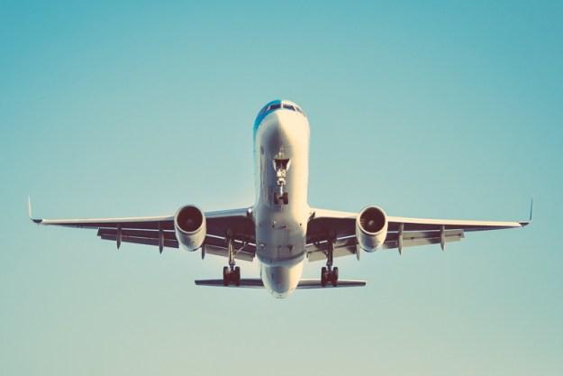 avião consumo consciente