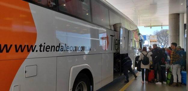 transfer entre aeroportos buenos aires onibus
