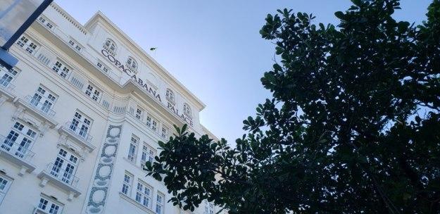 diária no copacabana palace fachada