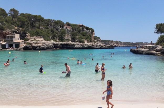 praia cala lombards mallorca espanha