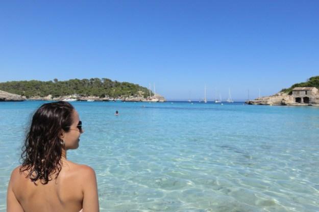 praia parque mondrago mallorca espanha