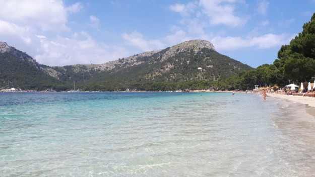 praia formentor mallorca espanha