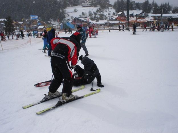 queda esqui seguro viagem argentina