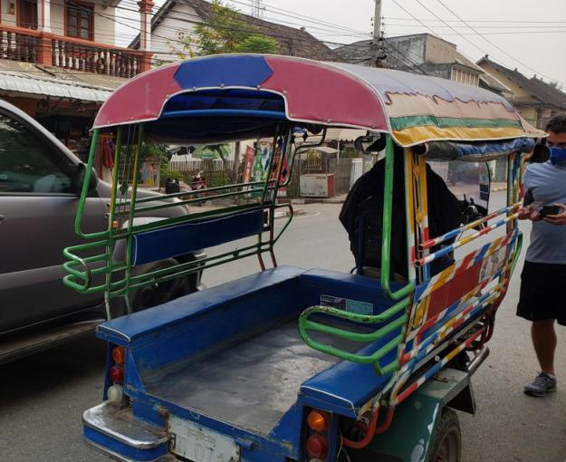 tuk tuk laos seguro viagem tailândia