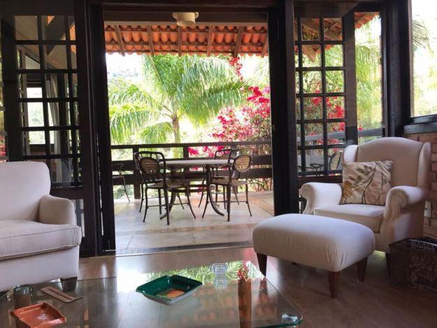 sala varanda petropolis airbnb rj