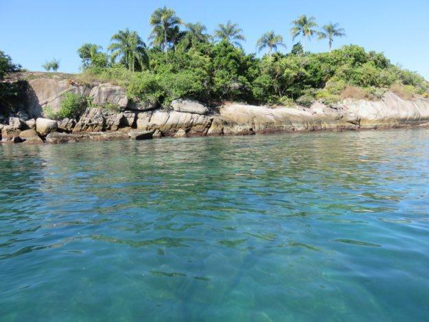 passeio de barco em-paraty ilha comprida