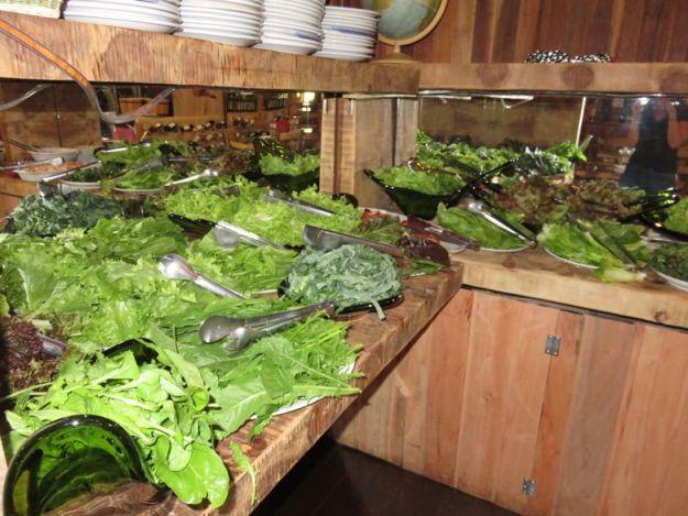restaurantes em cambará do sul galeteria o casarão saladas