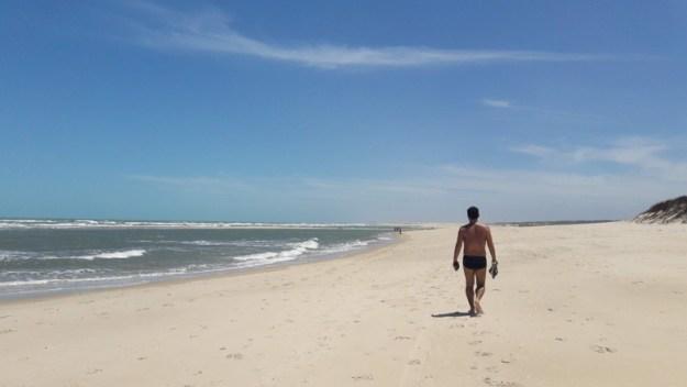 roteiro de praias no ceara praia aguas belas