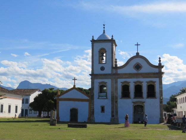 igreja santa rita centro histórico de paraty