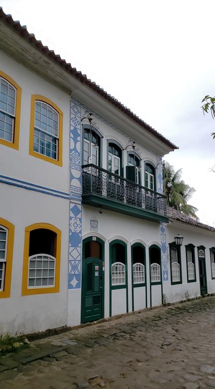 casas centro histórico de paraty